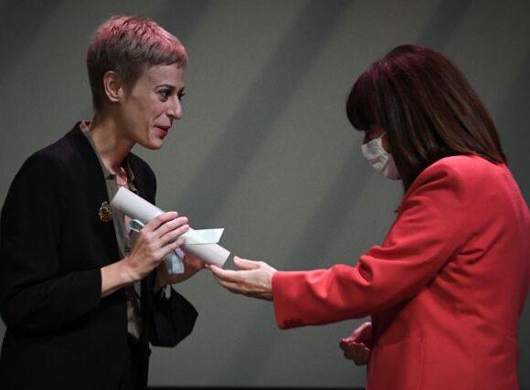 Στην Δήμητρα Βλαγκοπούλου το θεατρικό βραβείο Μελίνα Μερκούρη