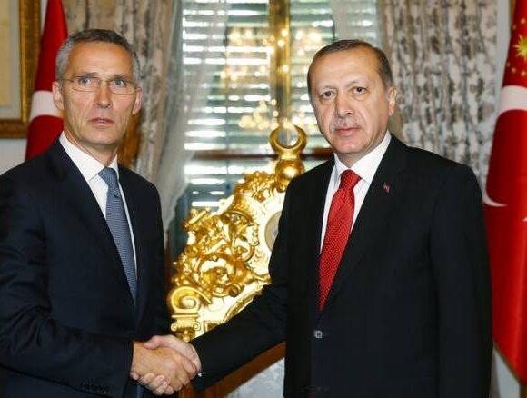 Στόλτενμπεργκ – Ερντογάν: Συνάντηση για τον στρατιωτικό μηχανισμό αποτροπής sτην Ανατολική Μεσόγειο