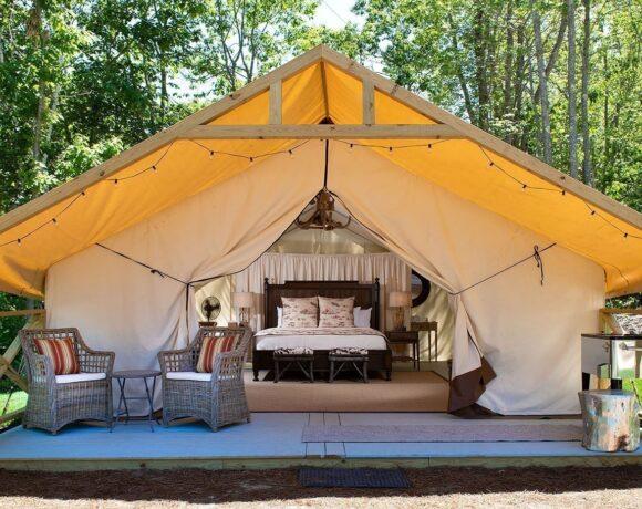 Το νέο σήμαGlamping για camping 5*