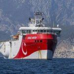 Τουρκία: Με νέα NAVTEX παρατείνει τις έρευνες του Oruc Reis