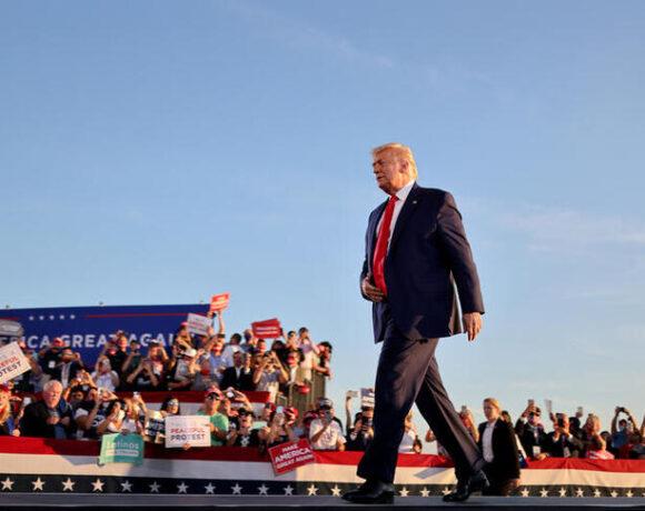 Τραμπ : Επιστρέφει με προεκλογική συγκέντρωση τη Δευτέρα στη Φλόριντα