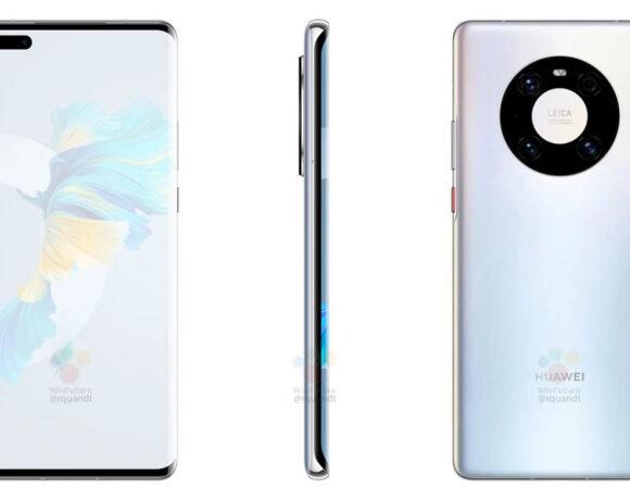 Huawei Mate 40 Pro: Renders του flagship και όλα τα χαρακτηριστικά