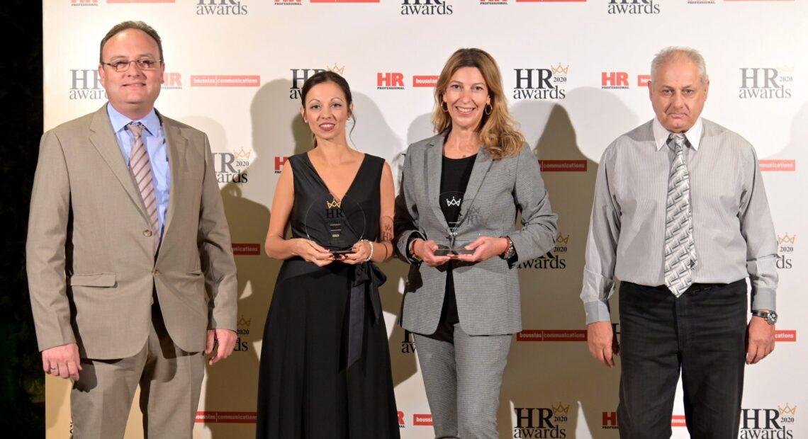 INTRALOT: Χρυσή και αργυρή διάκριση στα HR Awards 2020