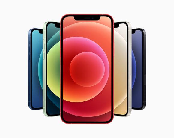 iPhone 12: Ποζάρουν σε όλα τα χρώματα σε live φωτογραφία