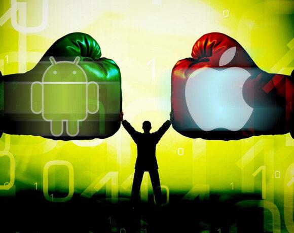 "iPhone vs Android: Γιατί ακόμα μαλώνουμε για τον ""καλύτερο"";"