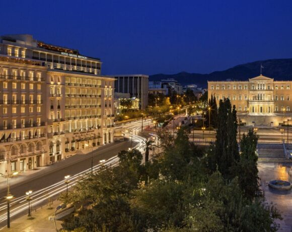 Leadership Changes Announced for Athens' Grande Bretagne and King George Hotels
