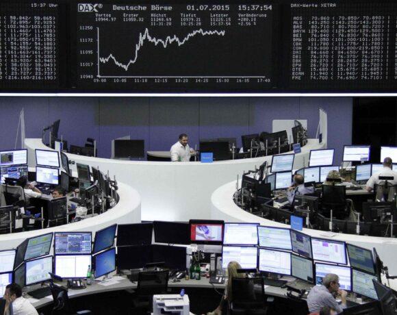 Mεικτά πρόσημα στα ευρωπαϊκά χρηματιστήρια