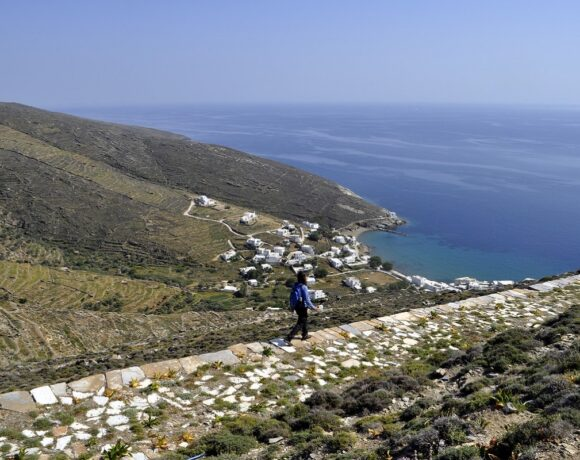 New App Launched for Trails of the Island of Tinos