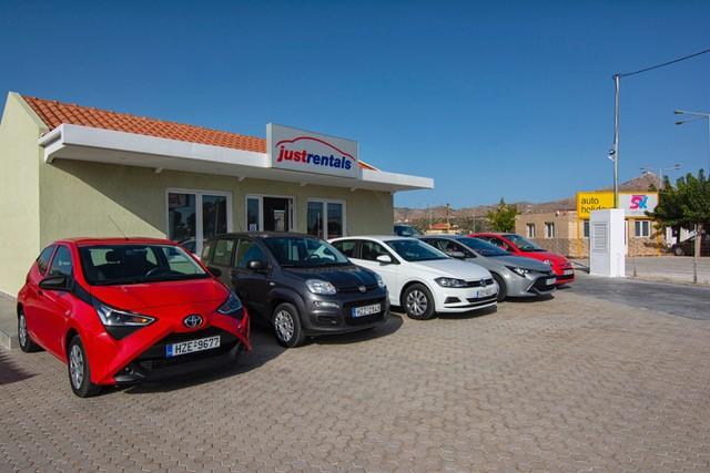 'Rental Center Crete' Launches New Website in Greek