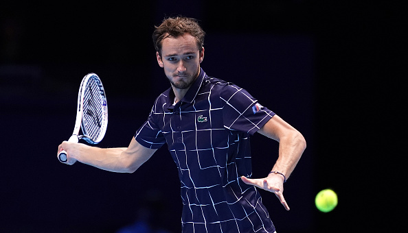 ATP finals: Αήττητος στα ημιτελικά ο Μεντβέντεφ