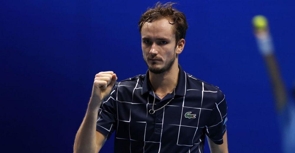 ATP finals: Μεντβέντεφ – Τιμ στον τελικό