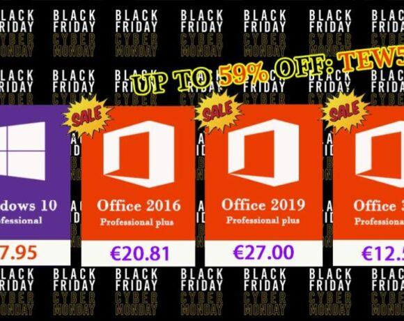 Black Friday από σήμερα σε δημοφιλές λογισμικό Windows και Office Pro