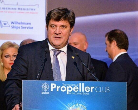 Γιώργος Ξηραδάκης: Στόχος των Ελλήνων εφοπλιστών η εξεύρεση νέων κεφαλαίων προς επένδυση