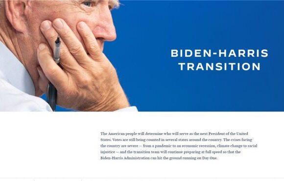 Εκλογές ΗΠΑ : Ο Μπάιντεν άνοιξε τη σελίδα της μετάβασης στην εξουσία