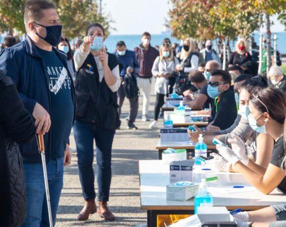 Θεσσαλονίκη: 236 παραβάσεις για μάσκα, αποστάσεις και κυκλοφορία μετά τις 00