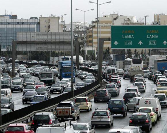 Κίνηση στην Αθήνα: Σχεδόν 44