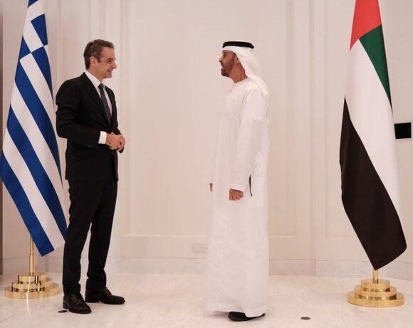 «Κλείδωσε» η στρατηγική συνεργασία με Ελλάδα και Ηνωμένα Αραβικά Εμιράτα – Τι συμφώνησαν