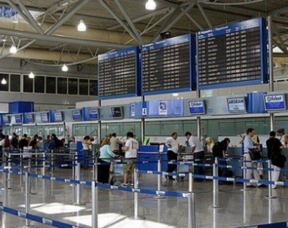 Στο 1/3 η επιβατική κίνηση στα ελληνικά αεροδρόμια στο 10μηνο