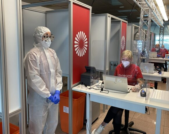 Lufthansa Starts First Trial Run for Covid-19 Rapid Tests