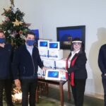 ANEK Lines Donates Tablets to Students of Chania, Crete