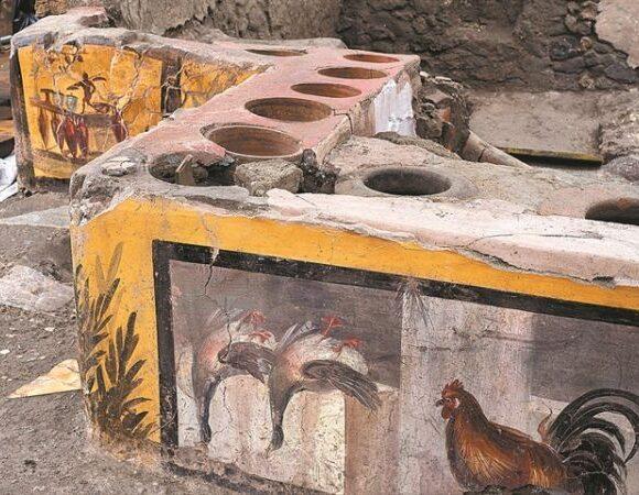 Αρχαιολογική ανακάλυψη: Το σνακ μπαρ της αρχαίας Πομπηίας