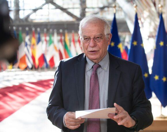Μπορέλ: Να ληφθούν ισχυρά μέτρα εάν η σχέση ΕΕ – Τουρκίας συνεχίσει καθοδικά
