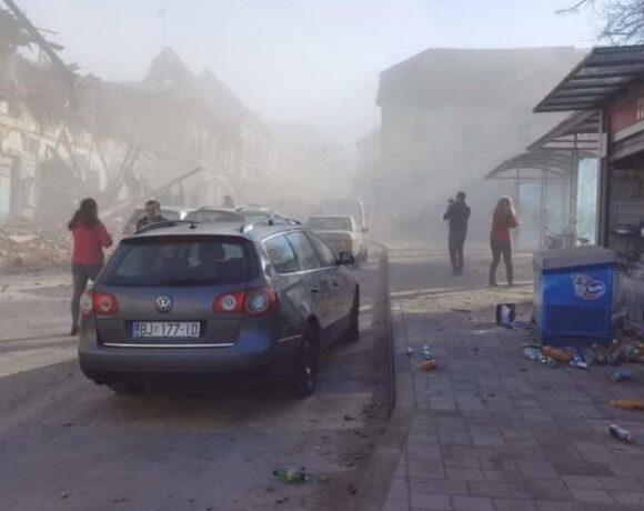 Σοβαρές ζημιές σε κτίρια από τον σεισμό των 6,3 Ρίχτερ στην Κροατία
