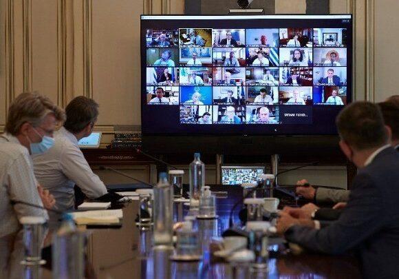 Συνεδριάζει το υπουργικό συμβούλιο μέσω τηλεδιάσκεψης