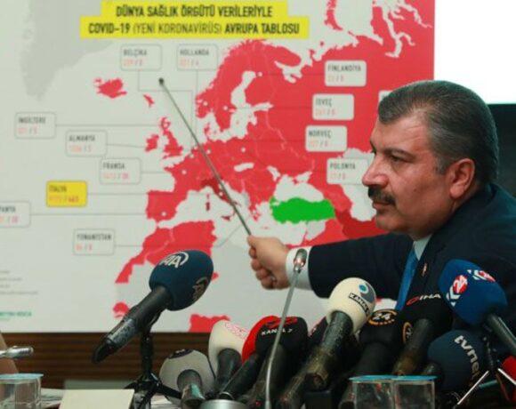 Τουρκία: Η απόκρυψη των κρουσμάτων και η εκτίναξή τους κατά 900