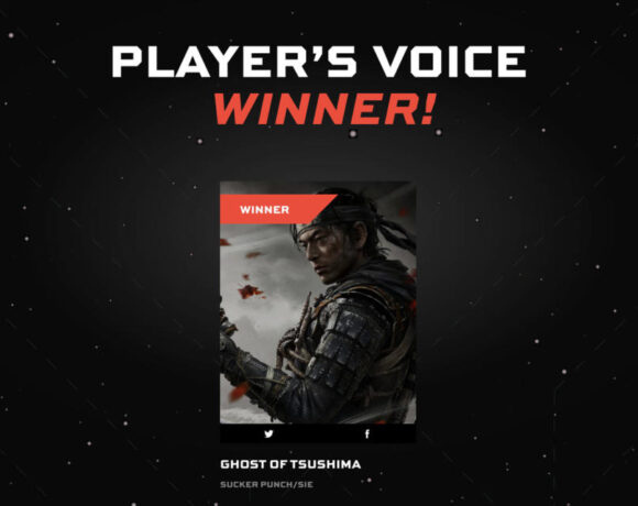Ghost of Tsushima: Κέρδισε το Player's Voice Award στα The Game Awards 2020