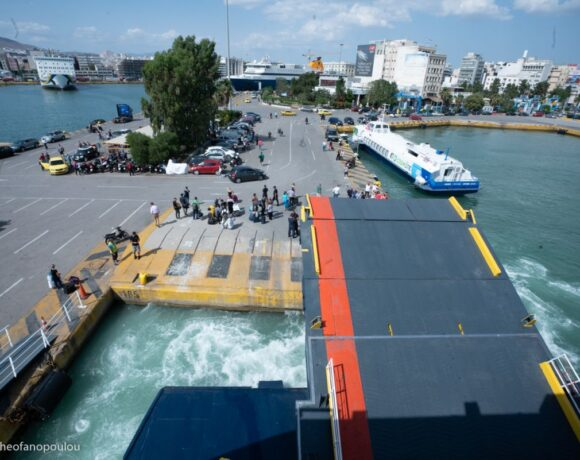 Greek Coast Guard Steps Up Checks on Ferries and Travelers