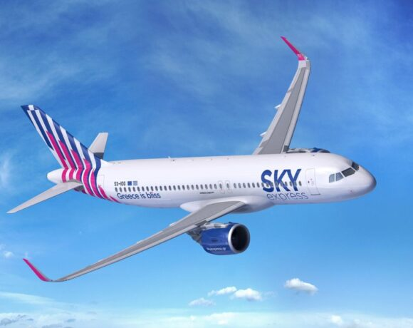 Sky Express Puts New Airbus A320neo into Service on Athens-Thessaloniki Route