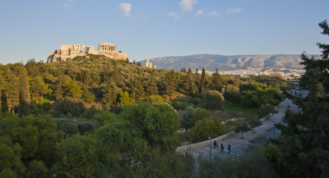 Athens' First Sunrise for 2021 Featured on Chinese Social Media