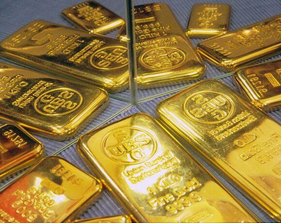 Ήπια άνοδος για την τιμή του χρυσού