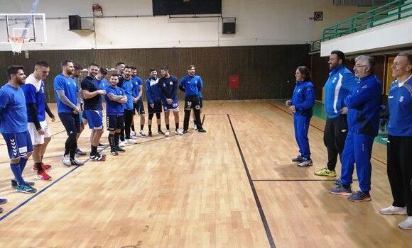 Η αποστολή της Εθνικής για το παιχνίδι με τη Σερβία