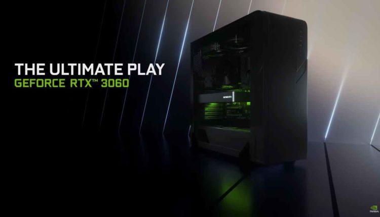 Η Nvidia ανακοίνωσε την GeForce RTX 3060 με μνήμη 12GB DDR6