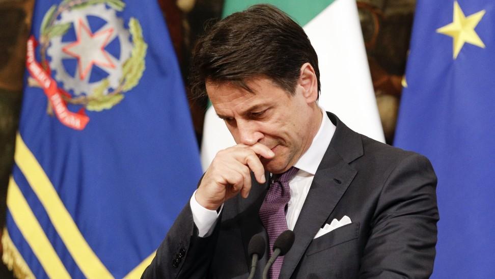 Ιταλία: Πιθανή παραίτηση Κόντε τις επόμενες ώρες