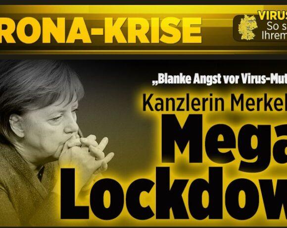 Κοροναϊός : Ετοιμάζεται για… Mega-lockdown η Μέρκελ – Σήμα κινδύνου από τους επιστήμονες στη Γερμανία