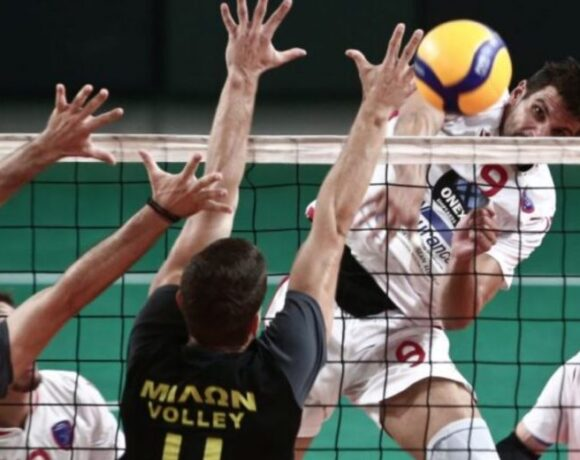Ξεκινά η Volley league των ανδρών