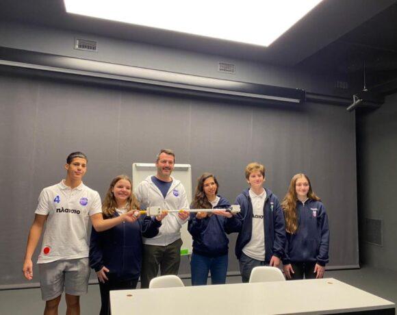 Πλαίσιο: Η ομάδα Robotics κατέκτησε χρυσό μετάλλιο στη Διεθνή Ολυμπιάδα Ρομποτικής