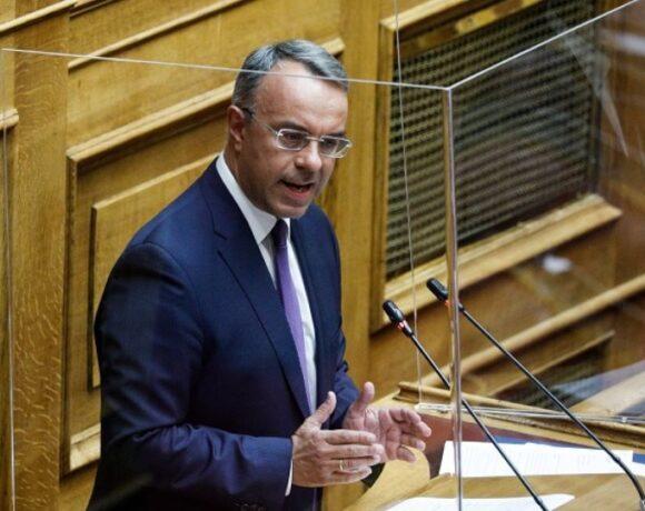 Σταϊκούρας: Ερχεται επιδότηση παγίων δαπανών