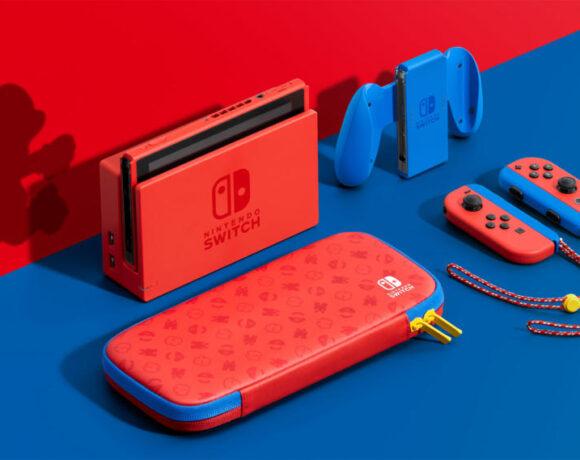 Συλλεκτικό Nintendo Switch Mario Red & Blue Edition