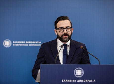 Ταραντίλης: Ενημέρωση από τον κυβερνητικό εκπρόσωπο