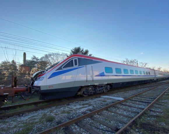 Greece Receives First High-speed Passenger Train
