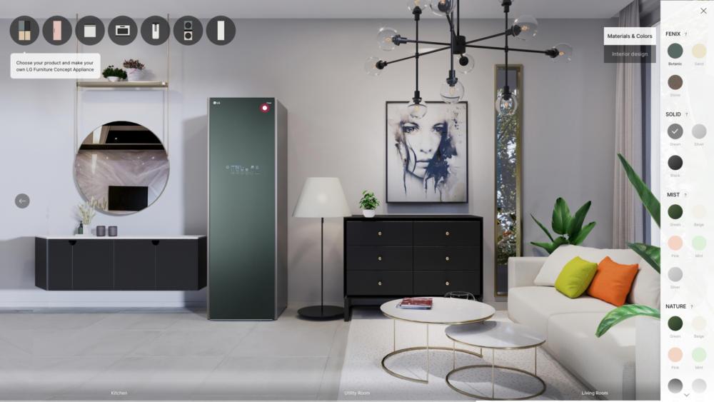 LG Furniture Concept Appliances στην έκθεση CES 2021