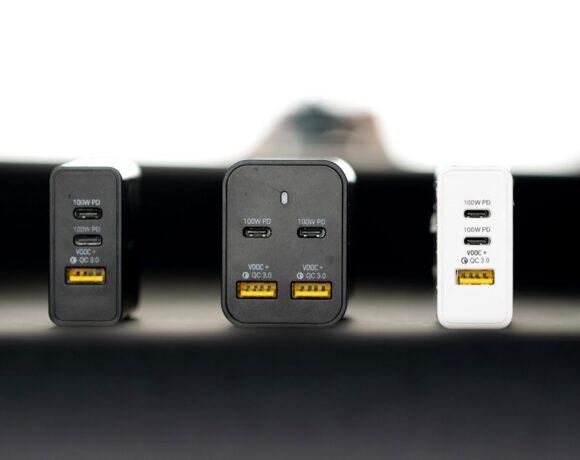Omega Charger: Ο πρώτος φορτιστής USB-C 200W με τεχνολογία GaN