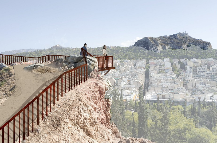 Strefi Hill Revamp to Create an Oasis in Athens for Residents and Visitors