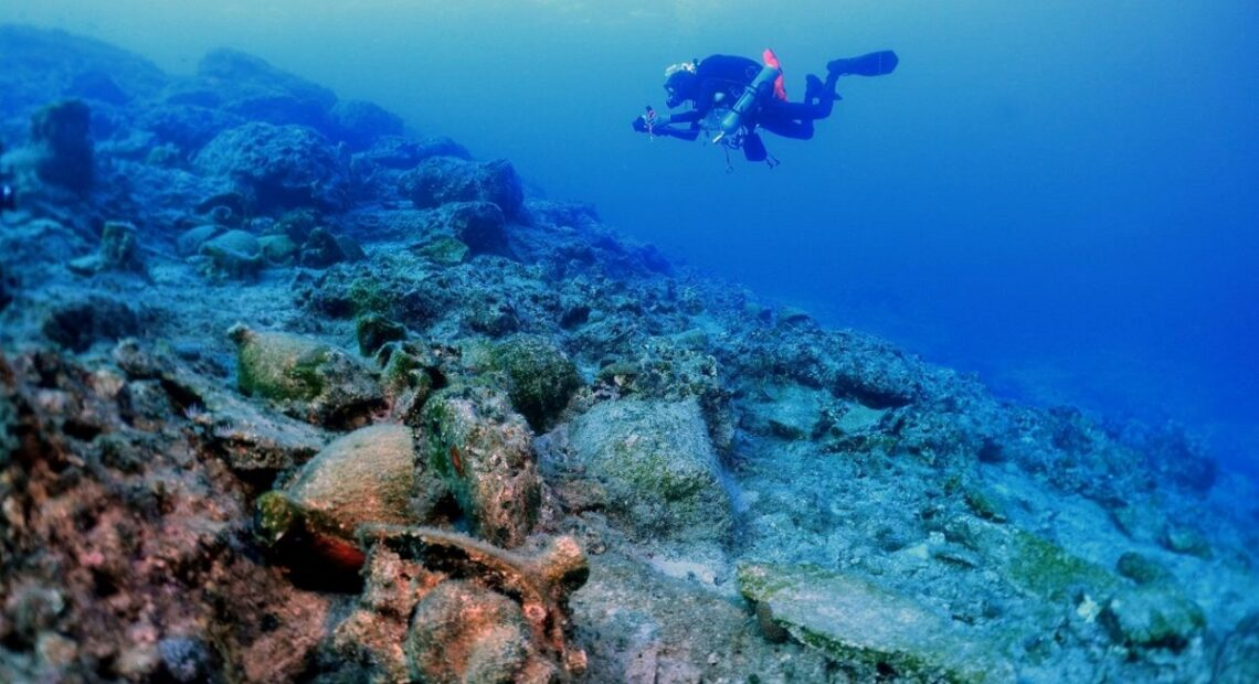 Underwater Excavation Off Kasos Uncovers Ancient Shipwrecks and Cargo