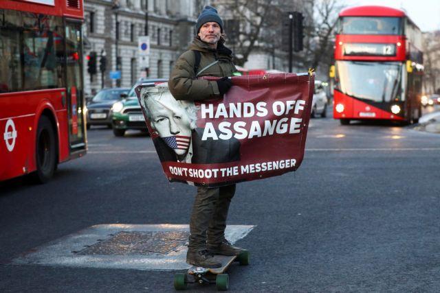 Wikileaks : Σήμερα η απόφαση για την έκδοση του Ασάνζ στις ΗΠΑ