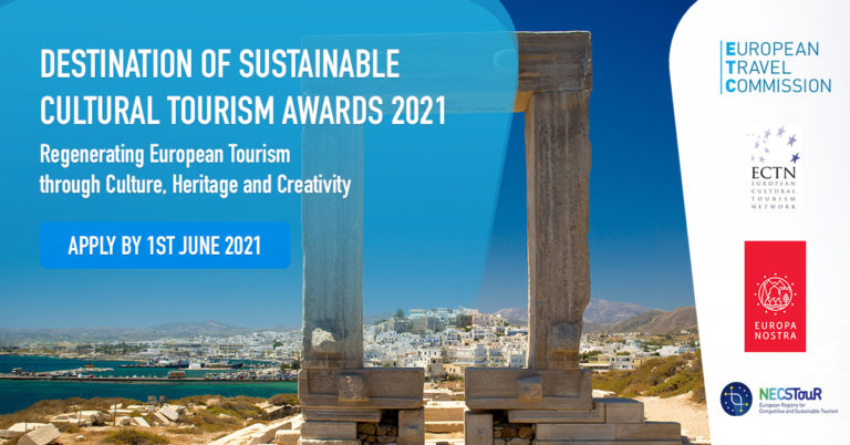 Applications Open for Destination of Sustainable Cultural Tourism Awards 2021